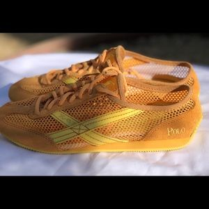 NW Polo Ralph Lauren X-67 Sneakers Sz 6B